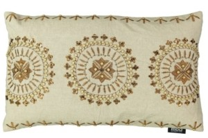 """Mod Lifestyles Gold Collection Medallion Pillow, 20"""" x 20"""""""