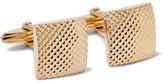 Lanvin Textured Gold-Tone Cufflinks
