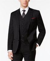 Ben Sherman Men's Slim-Fit Black Solid Suit Jacket