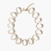 J.Crew Oversized gem necklace