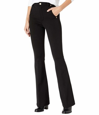 Blank NYC Women's Ponte HIGH Rise Flare Jean