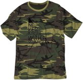 BSW YOUTH Never Argue With A 90 Degree Angle Always Right Shirt XL Camo