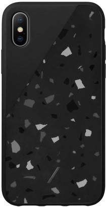 Native Union Clic Terrazzo iPhone XS Max Case - Black