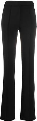 Andrea Ya'aqov High-Waisted Flared Trousers