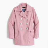 J.Crew Peacoat in heavyweight cotton twill
