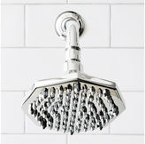 Lefroy Brooks Mackintosh Octagonal Showerhead, Chrome