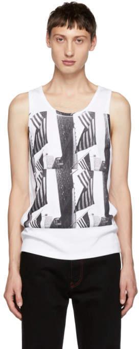 Calvin Klein White Andy Warhol Tank Top