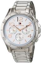 Tommy Hilfiger Tommy Hifiger 1781526 Alex - Wristwatch men's, Stainless Steel, Band Colour: Silver