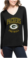 '47 Women's Green Bay Packers Splitter Arch Long-Sleeve T-Shirt