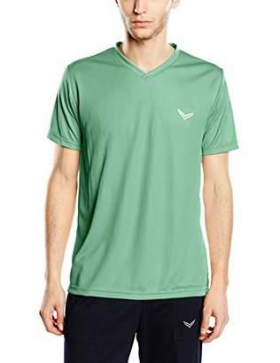 Trigema Men's 644203 Sports Shirt, Green 156, Large