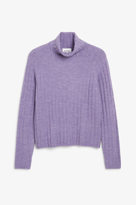 Monki Knit turtleneck sweater