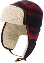 Original Penguin Men's Wooly Check Trapper Hat