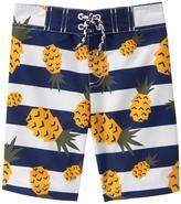 Gymboree Pineapple Board Shorts