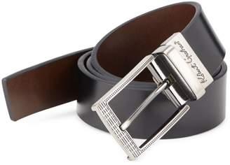 Robert Graham Terdal Leather Belt