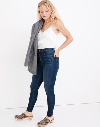 Madewell Curvy High-Rise Skinny Jeans in Sussex Wash: TENCEL Denim Edition