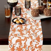 "Crate & Barrel Halloween Ghosts 90"" Table Runner"