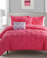 Victoria Classics Jana Reversible 4-Piece Twin Comforter Set