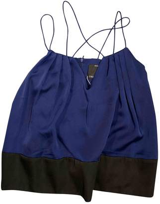 C/Meo Blue Polyester Tops