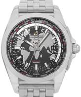 Breitling Unitime WB3510U4/BD94-375A Stainless Steel Black Dial Automatic 42.5mm Mens Watch