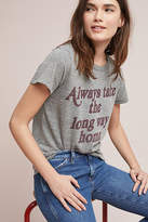 Junk Food Clothing Long Way Home Graphic Tee