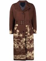 Thumbnail for your product : Salvatore Ferragamo Floral-Print Coat