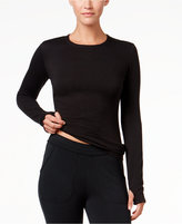 Cuddl Duds Comfortwear Long Sleeve Crew Thumbhole T-Shirt