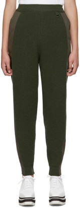Stella McCartney Khaki Knit Military Lounge Pants