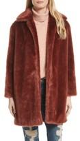 Frame Women's Faux Fur Coat