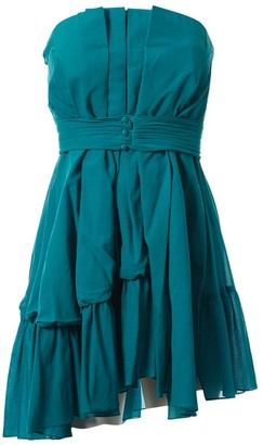 Miu Miu Turquoise Cotton Dresses
