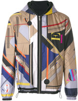 Versace reversible Laszlo print jacket - men - Cotton/Polyester - 50