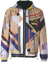 Versace reversible Laszlo print jacket