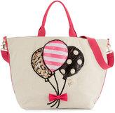Betsey Johnson Amuse Me Balloon Tote Bag, Multi