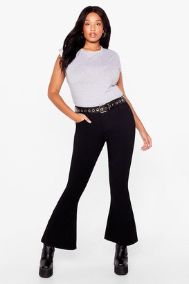 Nasty Gal Womens Raw the Line Plus Mom Jeans - Black - 22