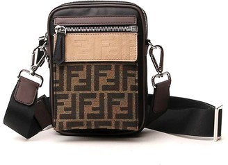 Fendi FF Monogram Messenger Bag