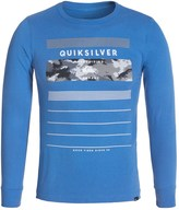 Quiksilver Logo T-Shirt - Long Sleeve (For Big Boys)