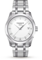 Tissot Exclusive Couturier Stainless Steel Ladies Watch