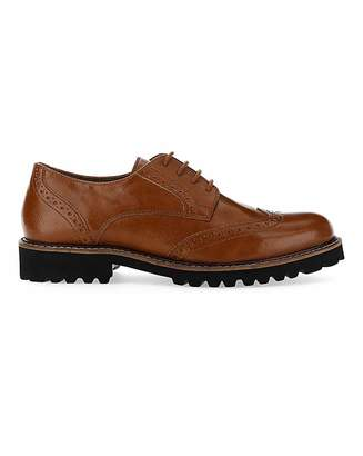Simply Be Abitha Chunky Sole Brogue Wide Fit