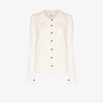 Eftychia Geometric Knit Shirt