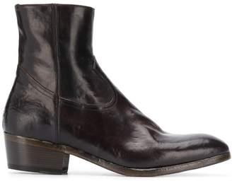 Silvano Sassetti S14242X313BTOTBSTOW DARK BROWN Furs & Skins->Calf Leather