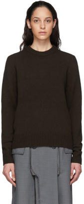 Acne Studios Brown Wool Sweater