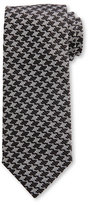Tom Ford Houndstooth Silk Tie, Black/White