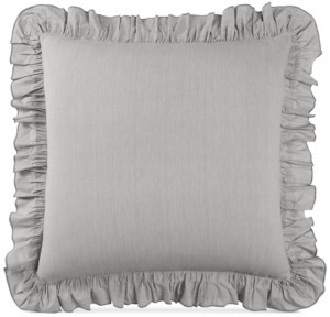 Lucky Brand Closeout! Cotton Tile Seed Stitch European Sham, Created for Macy's Bedding