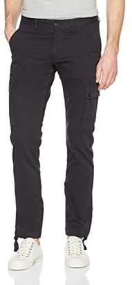 S'Oliver Q/S designed by Men's 40.802.73.2033 Trousers Black Grey 9897, 34 W/32 L