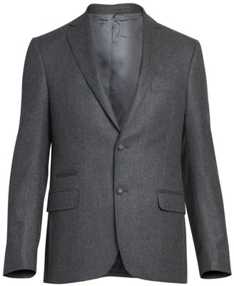 Officine Generale Flannel Wool Jacket