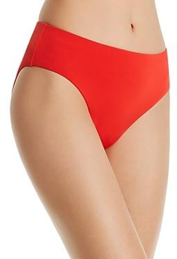 Robin Piccone Ava High-Waist Bikini Bottom