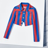Tommy Hilfiger Cropped Striped Jacket