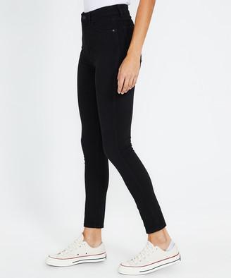 Neuw Marilyn Ankle Jeans Black Silk