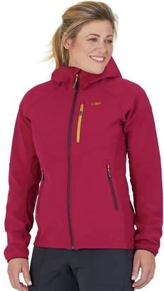 Outdoor Research Ferrosi Grid Hooded Jacket - Women's