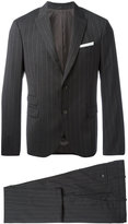 Neil Barrett pinstripe two-piece suit - men - Cotton/Polyester/Spandex/Elastane/Virgin Wool - 48