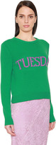 Alberta Ferretti Tuesday Wool & Cashmere Knit Sweater